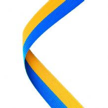 BLUE/YELLOW RIBBON TWO COLOUR